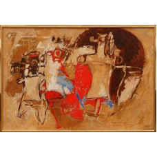 Albert Bitran - Atelier en pleine lumiere
